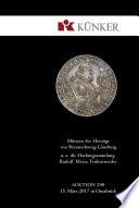 K  nker Auktion 290   M  nzen der Herz  ge von Braunschweig L  neburg  u  a  die Harburg Sammlung Rudolf Meier  Finkenwerder  Fr  hjahrs Auktionen 2017