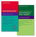 Oxford Handbook of Rheumatology and Oxford Handbook of Orthopaedics and Trauma