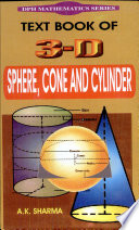 Text Book Of 3 D Sphere  Cone And Cylinder