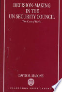 Decision making in the UN Security Council