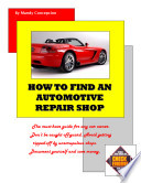 How to Find an Automotive Repair Shop