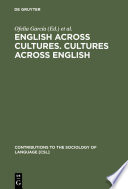 English across Cultures  Cultures across English