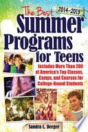 The Best Summer Programs for Teens