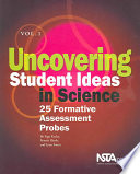 Uncovering Student Ideas in Science  25 formative assessment probes