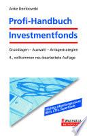 Profi Handbuch Investmentfonds inkl  E Book