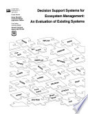 Decision Support Systems for Ecosystem Management
