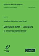 Volleyball 2004 - Jubiläum