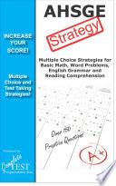 AHSGE Test Strategy