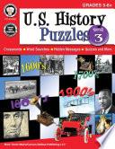 U.S. History Puzzles, Book 3, Grades 5 - 8