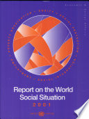 Report on the World Social Situation 2001