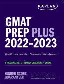 Gmat Prep Plus 2022 2023