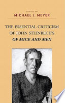 The Essential Criticism of John Steinbeck s of Mice and Men