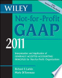 Wiley Not for Profit GAAP 2011