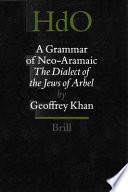 A Grammar of Neo Aramaic