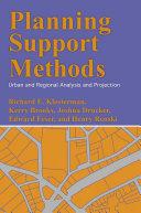 Planning Support Methods