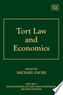 Tort Law and Economics