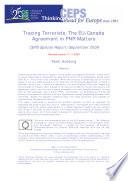 Tracing Terrorists  The EU   Canada Agreement in PNR Matters