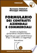 Formulario dei contratti aziendali. Annotato con legislazione, giurisprudenza e disciplina tributaria. Con CD-ROM