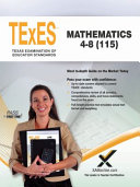 2017 TExES Mathematics 4 8  115