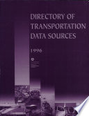 Ebook Directory of Transportation Data Sources (1996) Epub Sarah Maccalous Apps Read Mobile