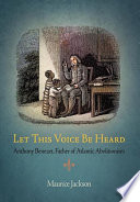 Let This Voice Be Heard The Eighteenth Century Antislavery Movement As Its Founder