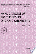 Applications Of Mo Theory In Organic Chemistry book