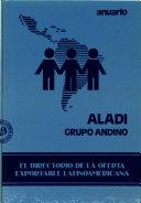 Anuario ALADI  Grupo Andino
