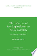 The Influence of Pre-Raphaelitism on Fin de Siècle Italy