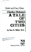 Monarch Notes on Dickens' A Tale of Two Cities