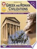 Greek And Roman Civilizations Grades 5 8