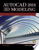 AutoCAD 2018 3D Modeling