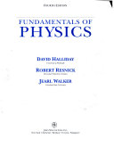 Fundamentals of Physics  Chapters 1 12
