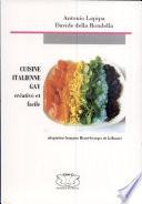 Cuisine Italienne gay créative et facile