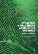 Strategic Management Accounting, Volume II