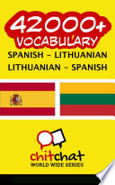 42000  Spanish   Lithuanian Lithuanian   Spanish Vocabulary