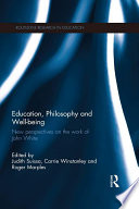 Education  Philosophy and Well being