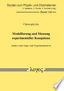 Modellierung und Messung Experimenteller Kompetenz