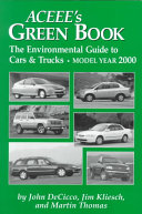Green Guide To Cars And Trucks
