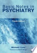 Basic Notes In Psychiatry