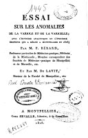 Essai sur les anomalies de la variole et de la varicelle