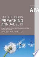 The Abingdon Preaching Annual 2013