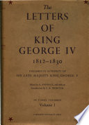The Letters of King George Iv