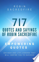 717 Quotes Sayings Of Robin Sacredfire