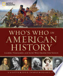 Who s Who in American History