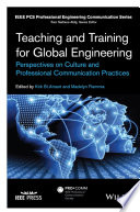 Teaching And Training For Global Engineering book