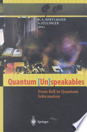 Quantum  Un speakables