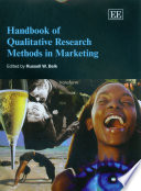 Handbook of Qualitative Research Methods in Marketing