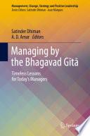Managing By The Bhagavad G T