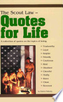 The Scout Law Quotes for Life