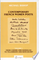 Contemporary French Women Poets: From Hyvrard and Baude to Étienne and Albiach